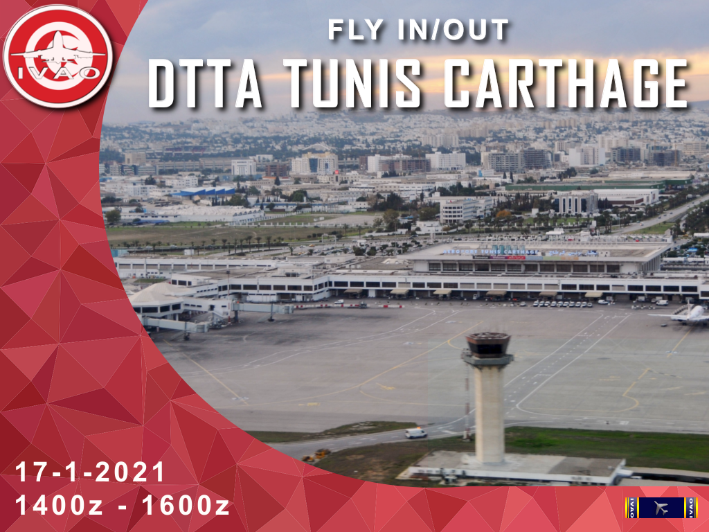 [TN] FLY IN/OUT Tunis-Carthage
