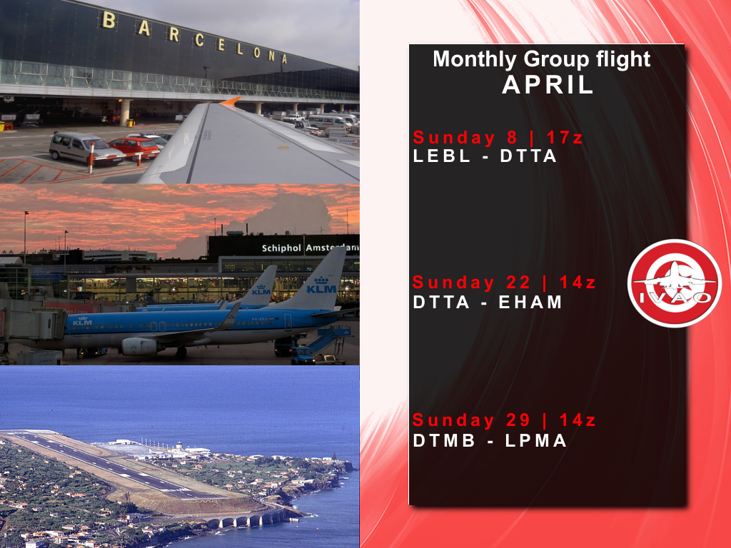 April Group Flight Program